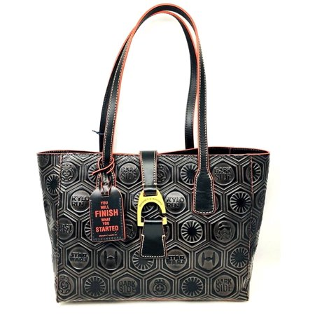 NEW WOMEN'S DOONEY & BOURKE STAR WARS DARK SIDE HALF MARATHON TOTE HANDBAG BAG](Star Wars Tote)