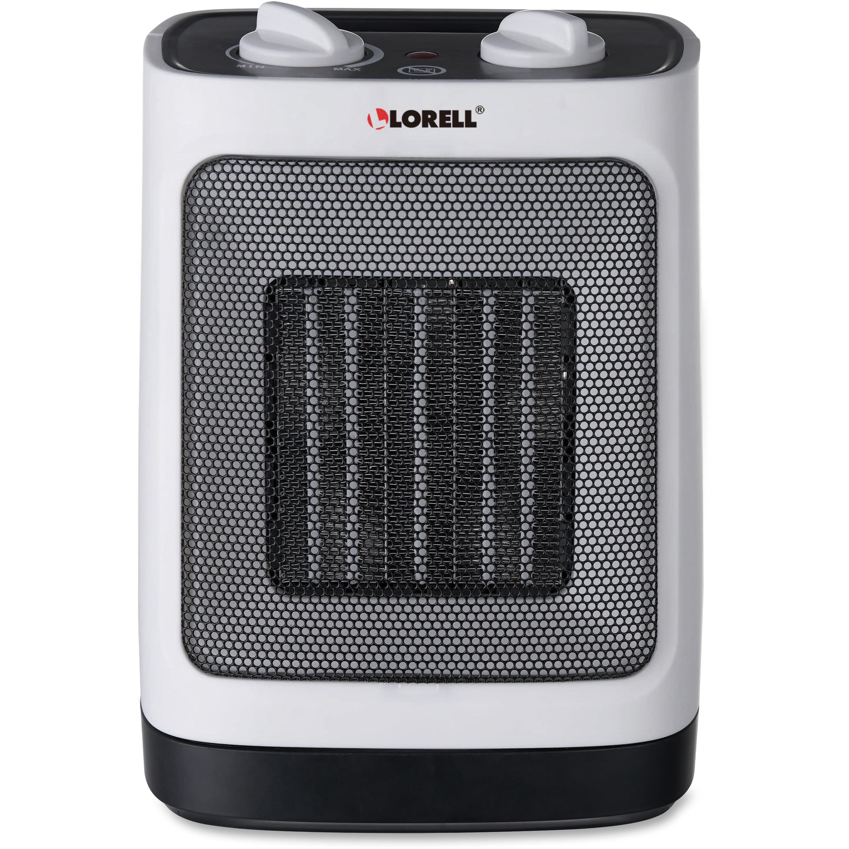 Lorell, LLR99841, Adjustable Ceramic Heater, White