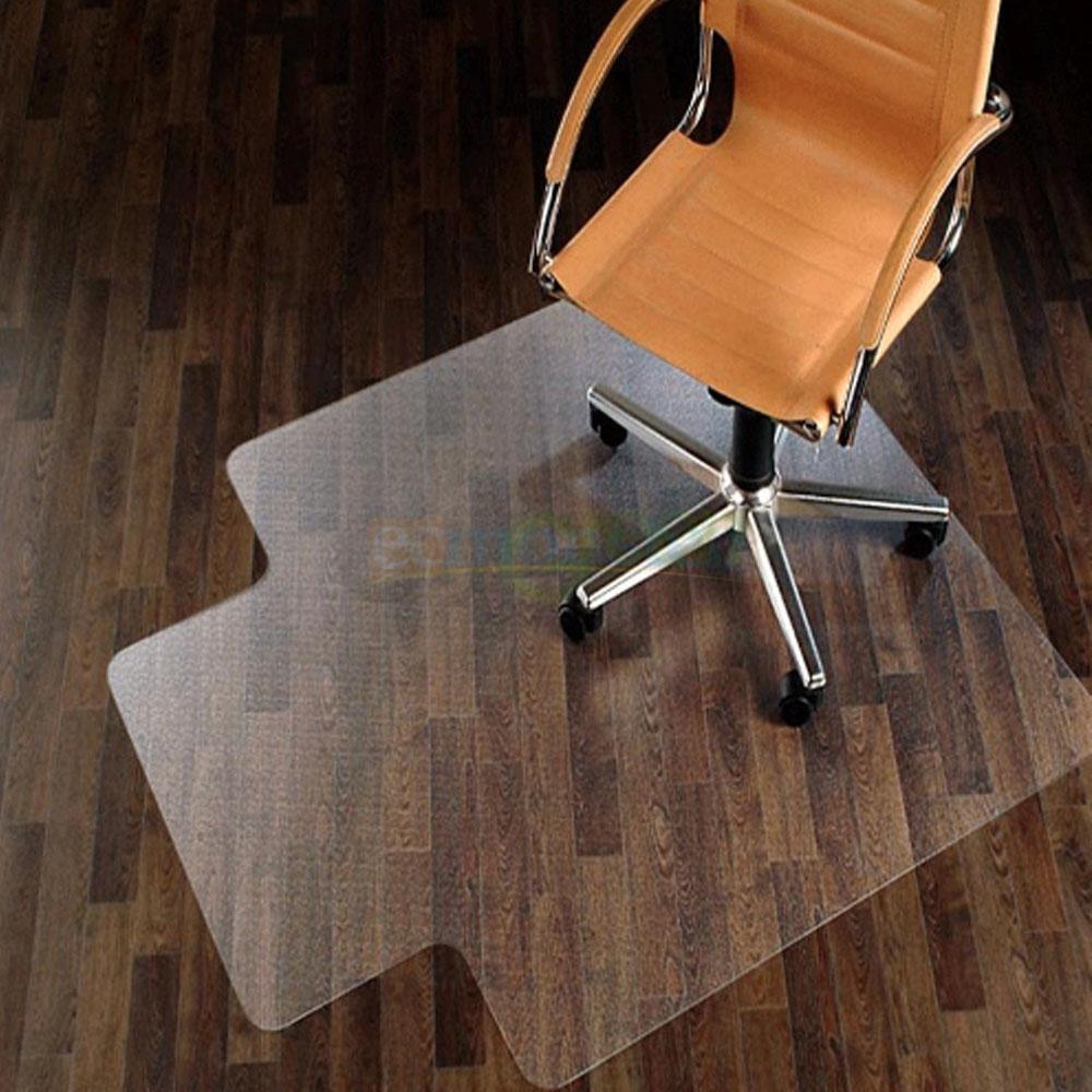 Zimtown 48 X 36 Matte Mat Desk Office Chair Protector Floor Liners For Hard Wood Floors Pvc