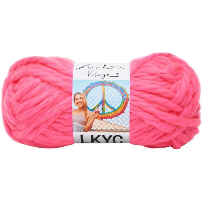 LKYC Lion Brand super bulky yarn