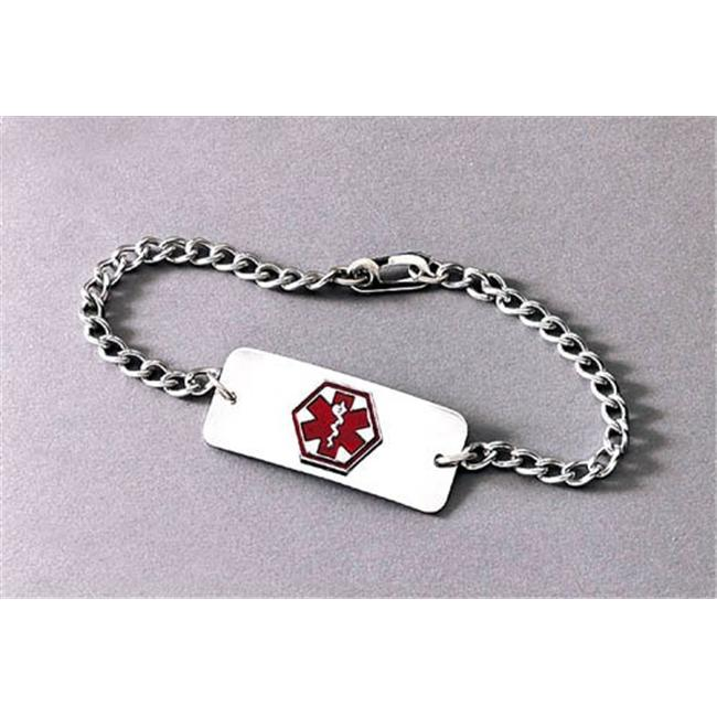 Complete Medical 2542BM Medical Identification Jewelry Bracelet Diabetic