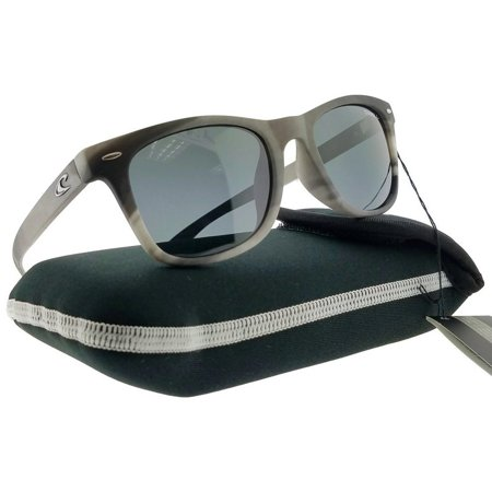 ONeill TOW-128P-50 Square Unisex Solid Smoke Frame Grey Lens Polarized (Oneill Sunglasses)
