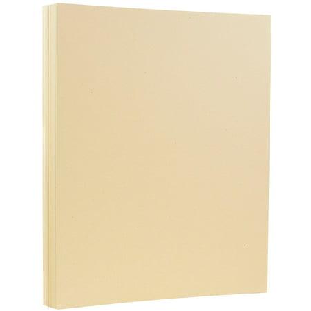 - JAM Paper Recycled Cardstock, 8.5 x 11, 80lb Husk Genesis Paper, 50 Sheets/Pack