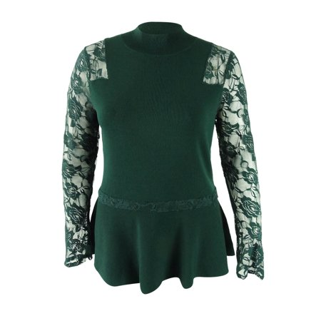 9e28adfc453 INC International Concepts - INC International Concepts Women s Peplum  Sweater (XXL