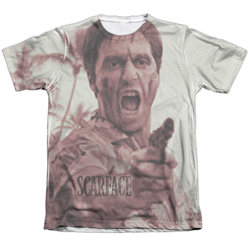 Scarface War Cry Mens Sublimation Shirt
