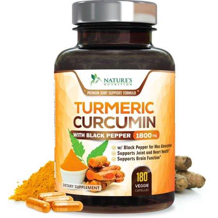 Reviews On Natures Nutrition Turmeric Curcumin