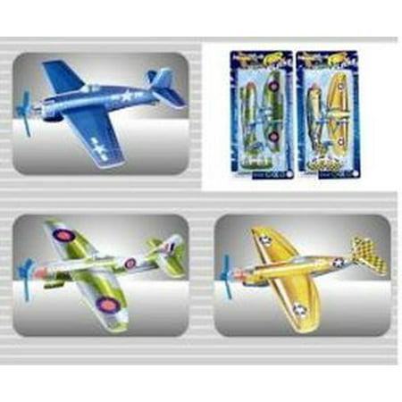 Foam Airplane Gliders World War 2 Styles - Foam Gliders
