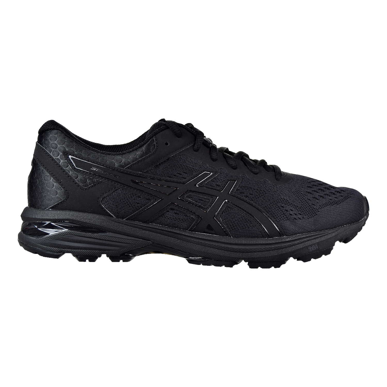 Asics GT-1000 6 (4E) Men's Shoes Black Black-Silver t7b1n-9090 by Asics