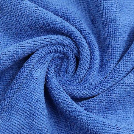 Blue Composite Coral Velvet Clean Cloth Absorbent Car Wash Towel 65cm x 33cm - image 3 of 3