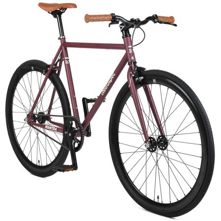 Retrospec Mantra V2 Single Speed Fixed Gear Bicycle with Sealed Bearing (Best Fix Gear Bikes 2019)
