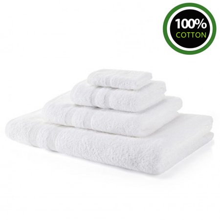 Royal Egyptian Luxury 500 GSM 100% Cotton Bath Sheets for Hotel and Spa White 1 Piece