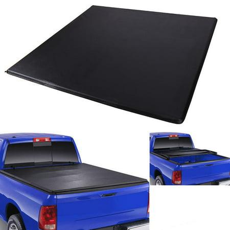 - Yosoo Lock Soft Tri-Fold Tonneau Cover 1988-2000 Vehicle Accessories for GMC Sierra 6.5ft / 78in Bed