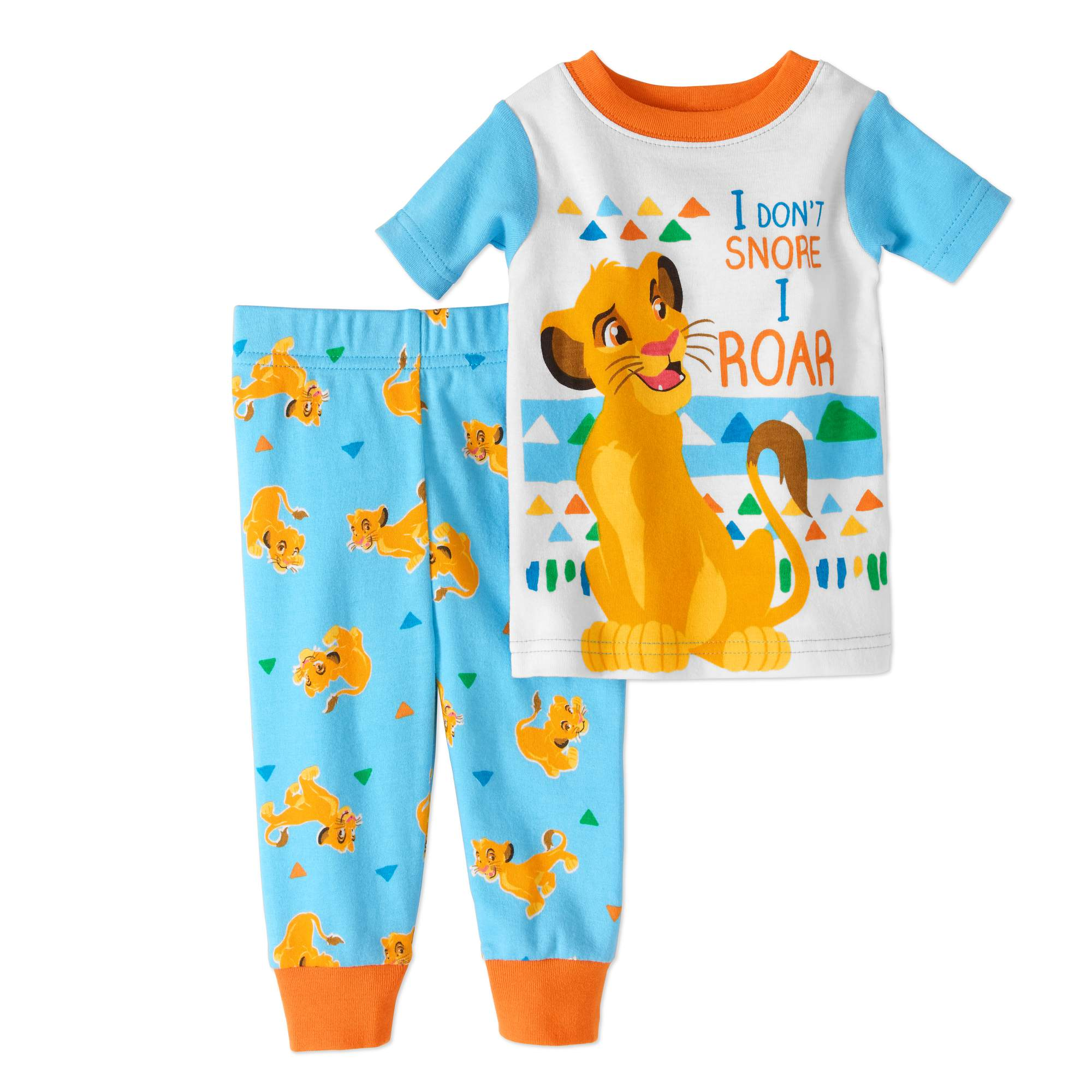 Newborn Baby Boy Cotton Tight Fit Pajamas, 2pc Set