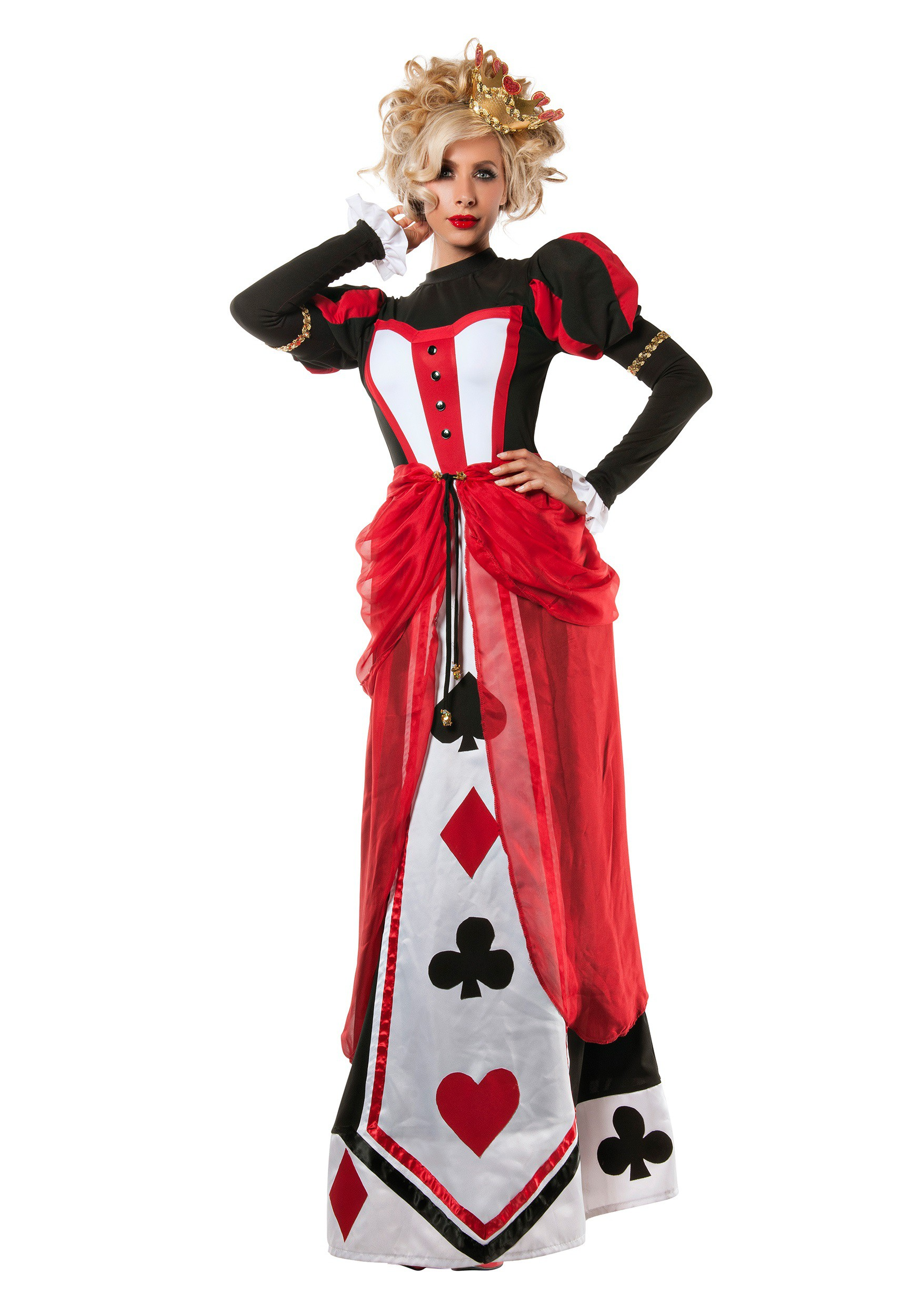 Women S Queen Of Hearts Costume Walmart Canada