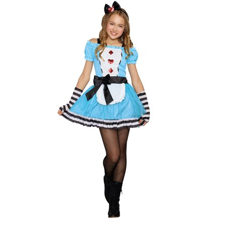 Tween Miss Wonderland Costume for Kids](Miss Wonderland Costume)