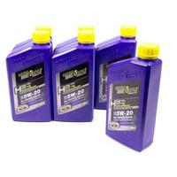 Royal Purple HPS High Performance Street 5W20 Motor Oil 1 qt Case Of 6 P/N 36520