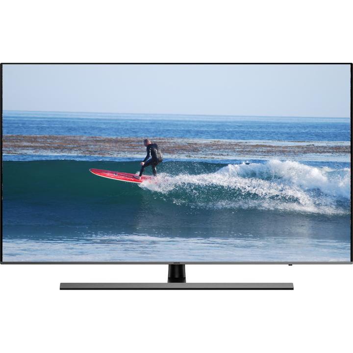 "Refurbished Samsung 55"" Premium 4K Smart UHD HDR LED TV, UN55NU8000"