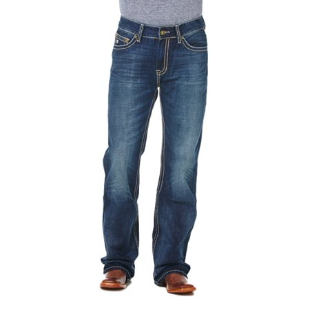 Cowboy Up Denim Jeans Mens Relaxed Fit Dark Stonewash CBJ30602 Urban Cowboy Jeans