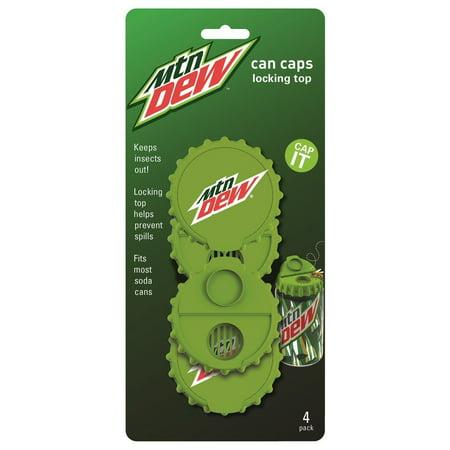 Jokari Pepsi Mountain Dew Soda / Pop / Beverage Can Caps - 4pk](Cola Pepsi Halloween)