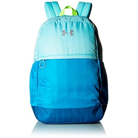 Under Armour Girls' Favorite Backpack - Blue Infinity-Blue Shift, One