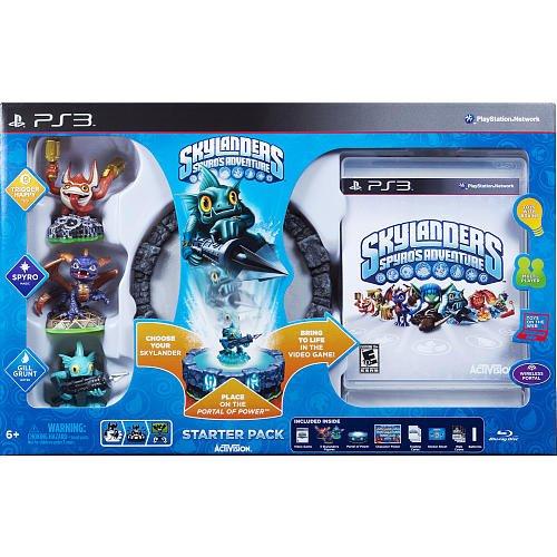 Skylanders Spyro's Adventure Starter Pack (PS3) 84148