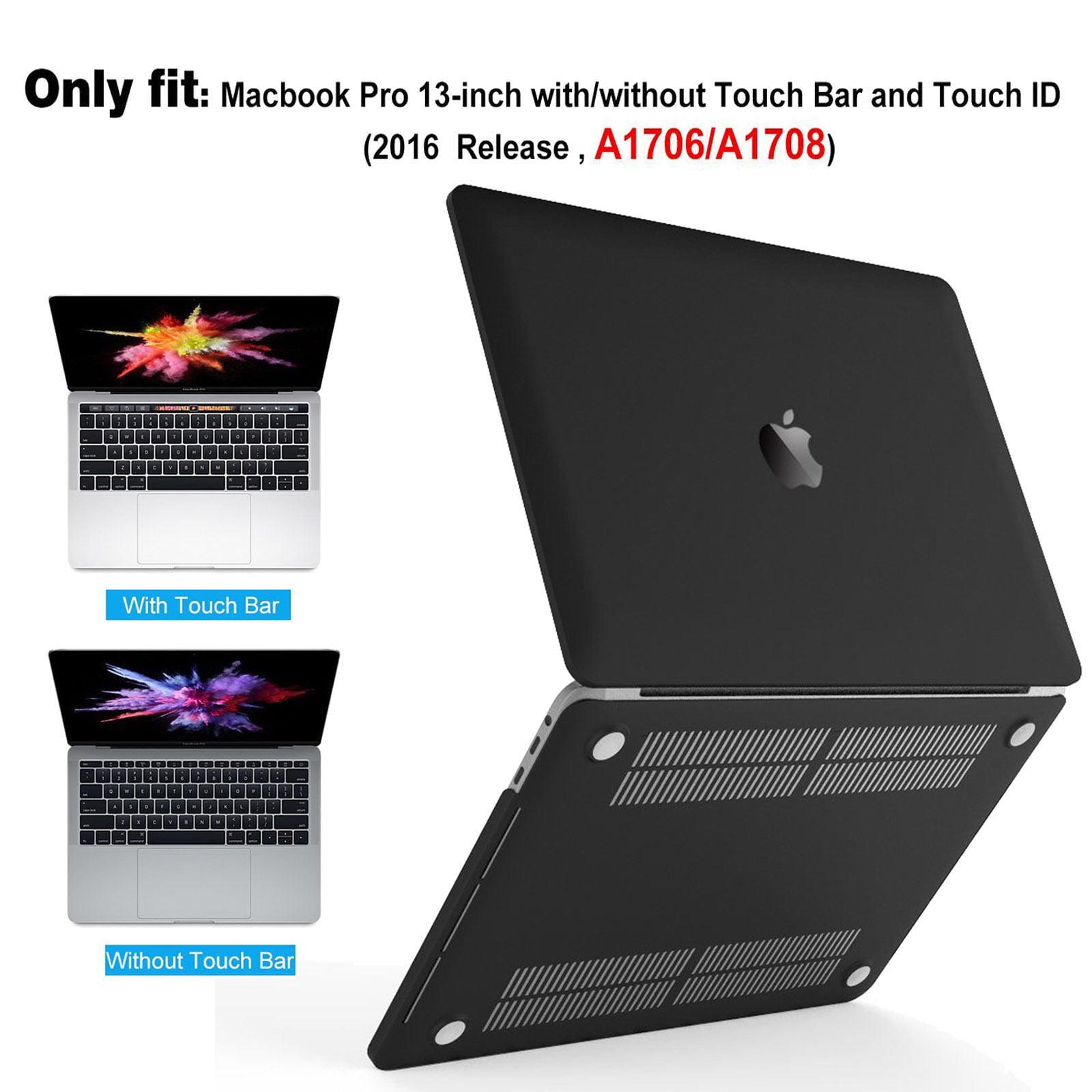 """Ultra-Smart Rubberized Matte Case W//Clear Keyboard for 2016 MacBook Pro 13/""""13.3/"""""""