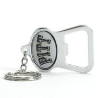 Pittsburgh Panthers Key Chain Bottle Opener - Chrome