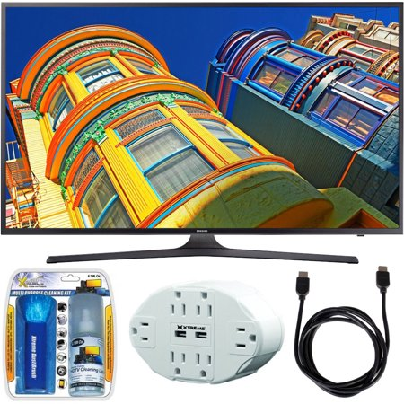 samsung un55ku6290 55 class 6 series 4k ultra hd smart led tv w accessory bundle includes tv. Black Bedroom Furniture Sets. Home Design Ideas