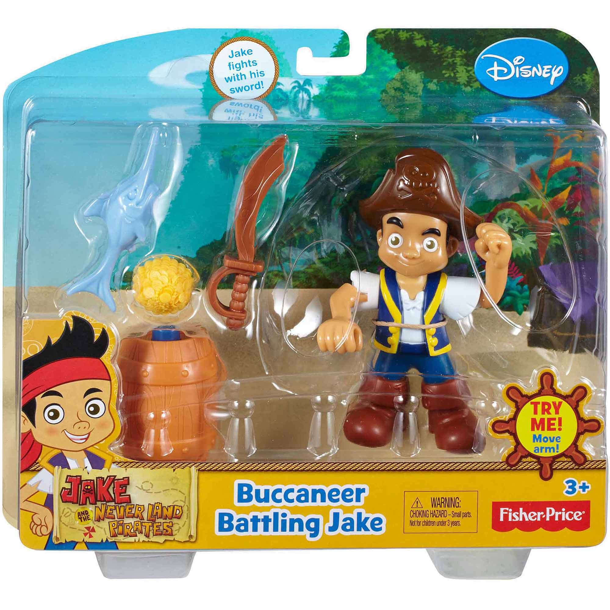 Jake and the Never Land Pirates Buccaneer Battling Jake Action Figure