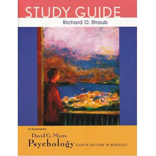 Psychology, Eighth Edition, in Modules Study Guide