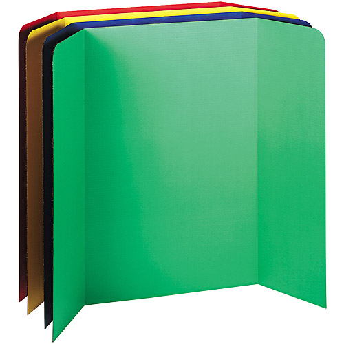 Pacon Spotlight Corrugated Presentation Display Boards, 48 x 36, Assorted, 4/Carton