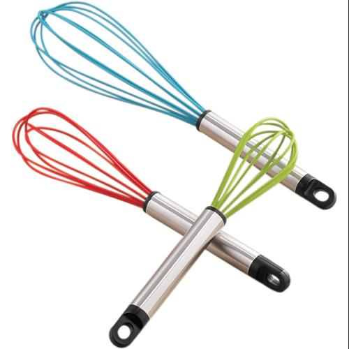 Miles Kimball   Silicone Whisk Set/3