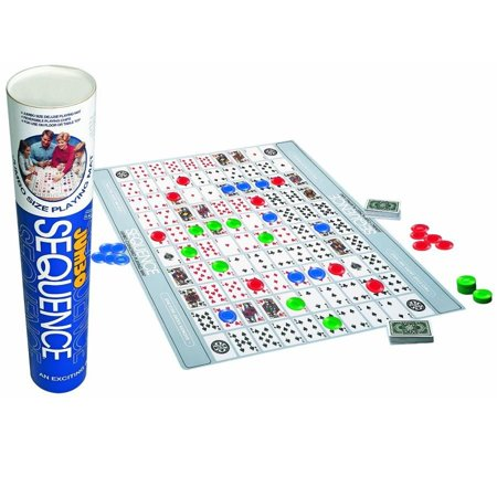 Sequence Jumbo in a Tube - Board Games by Jax Games (8070)