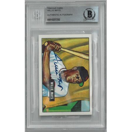 Rdb Holdings Consulting Ctbl B19748 Willie Mays Signed New York Giants 1951 1986 Ccc Bowman Reprint Rc Baseball Card No305