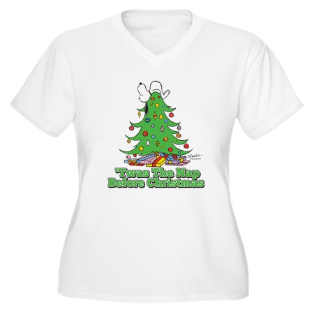62095f68364 CafePress - CafePress - The Nap Before Ch - Women s Plus Size V-Neck T-Shirt  - Walmart.com