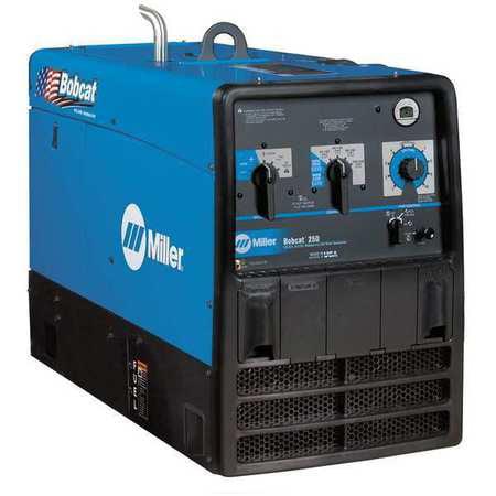 MILLER Engine Driven Welder,Bobcat 250 907500001