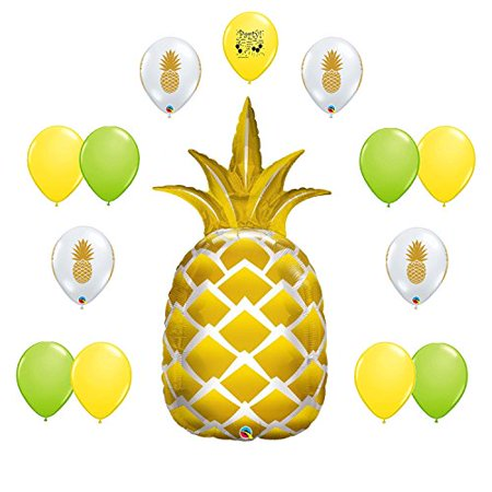 Pineapple Party Supplies Birthday Balloon Decoration Kit for $<!---->