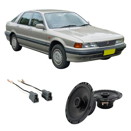 Fits Mitsubishi Sigma 1989 Rear Deck Replacement Harmony HA-R65 Speakers New 1989 Upper Deck Ken