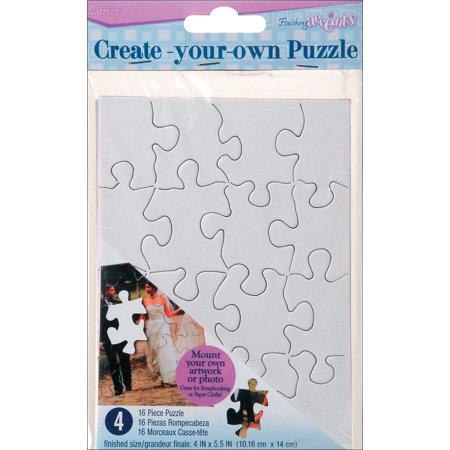 Create Your Own Puzzle, 16pc, 4
