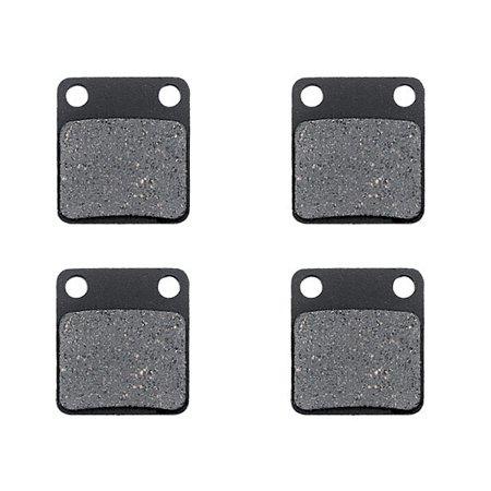 KMG Front Brake Pads Compatible with 2002-2007 Suzuki LTA 500 Vinson 4WD - Non-Metallic Organic NAO Brake Pads Set - image 1 of 4