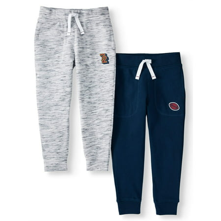 Dockers Terry - 365 Kids from Garanimals French Terry Jogger Pants, 2-Pack (Little Boys & Big Boys)