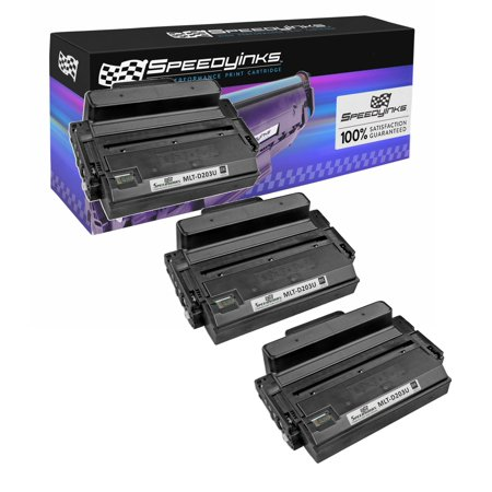 Speedy Compatible Toner Cartridge Replacment for Samsung MLT-D203U Ultra High Yield| 15000 Page Yield (Black, 3-Pack) Black 15000 Yield