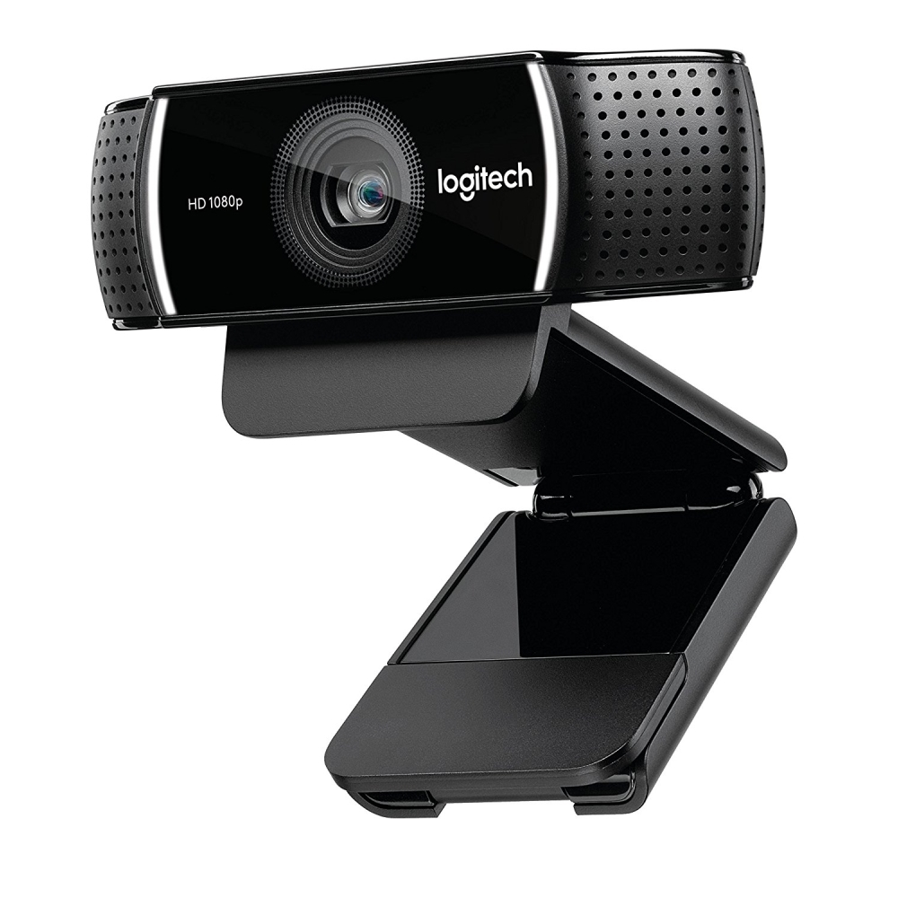 Logitech C922x Pro Stream Webcam – Full 1080p HD Camera – Background Replacement Technology for YouTube or Twitch Streaming (Refurbished)