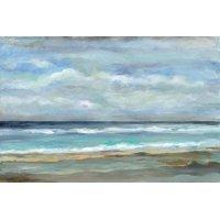 Seashore Beach Ocean Landscape Print Wall Art By Silvia Vassileva