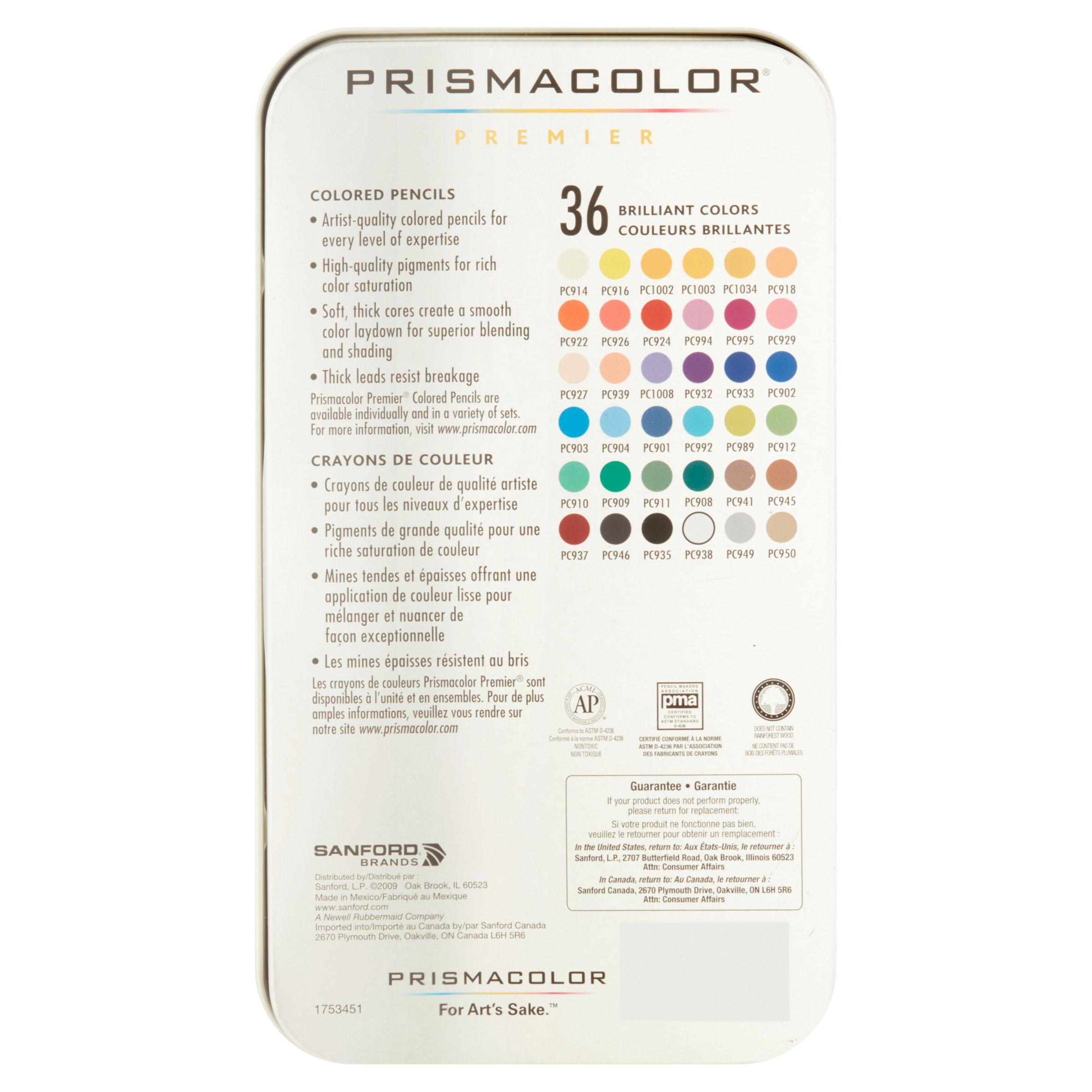 Prismacolor premier colored pencils 36 assorted colors walmart nvjuhfo Choice Image