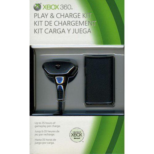 Microsoft Xbox 360 Play & Charge Kit (Xbox 360)