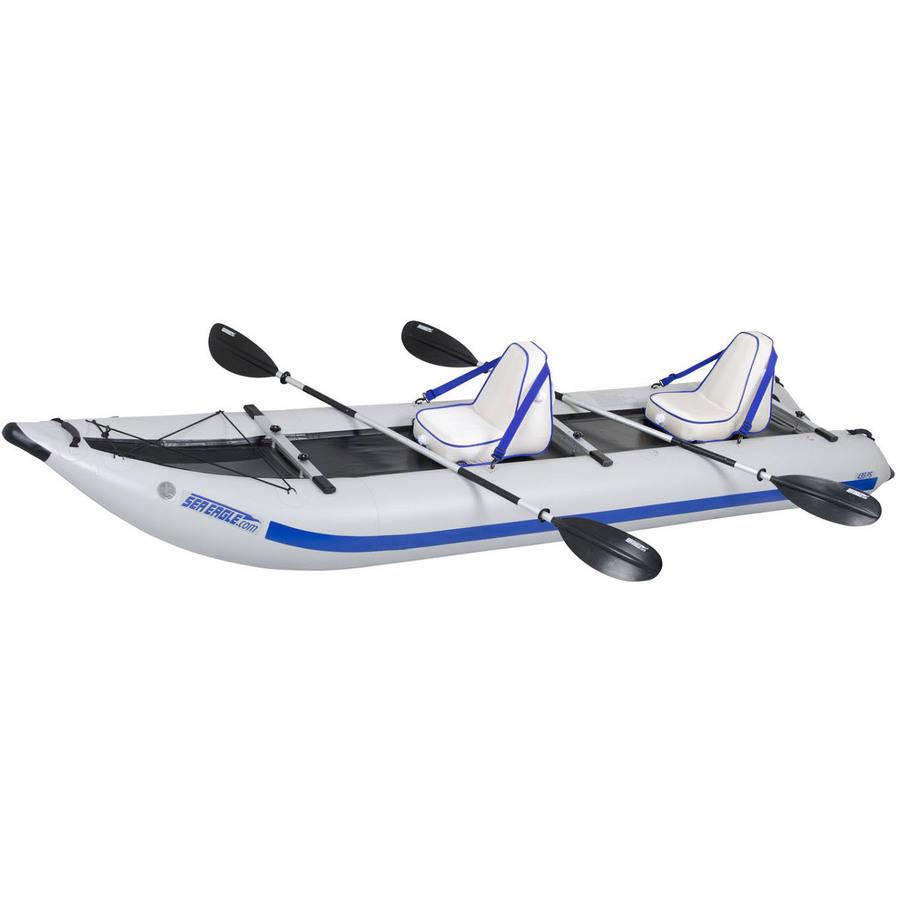 Sea Eagle PaddleSki Catamaran Inflatable Kayak 435PSK Deluxe by Sea Eagle