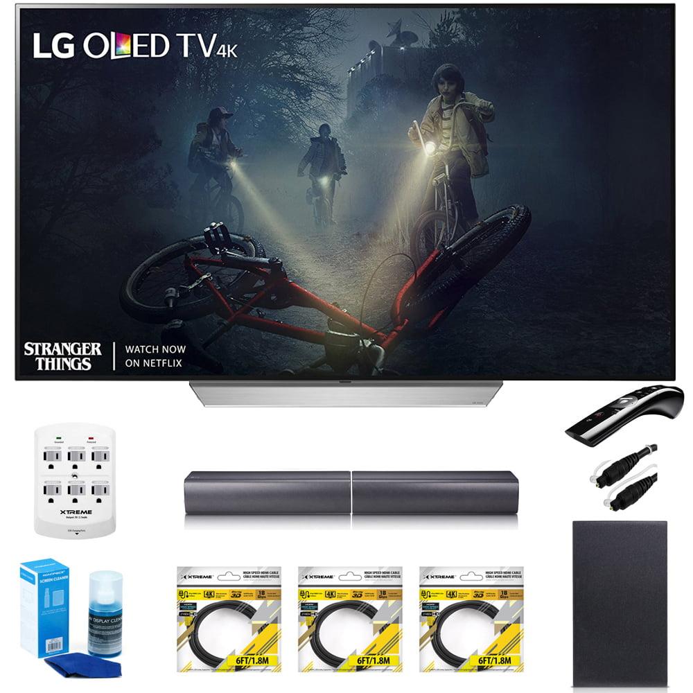 "LG 65"" C7 OLED 4K HDR Smart TV OLED65C7P w/LGSJ7 Wireless..."