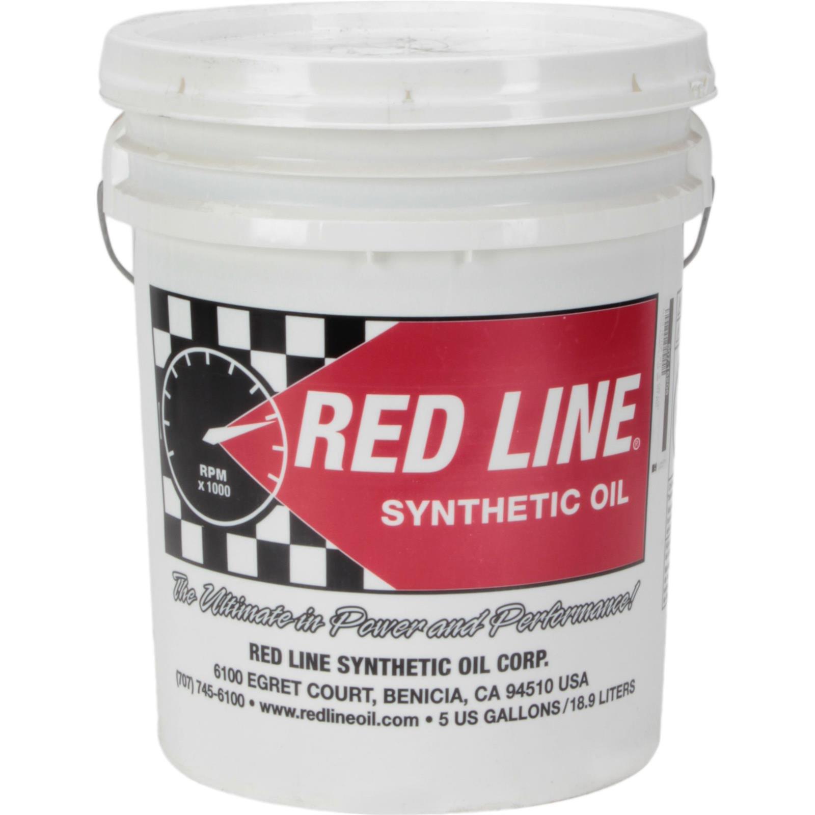 Redline 15206 5W-20 Motor Oil, 5 Gallon