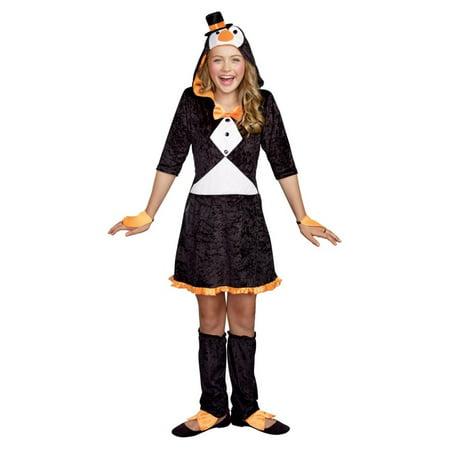 Pretty Penguin big Girls Costume